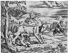 Angolo del Moro, Giovanni Battista: Romulus und Remus