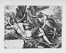 Angolo, Marco d´ - zugeschr.: Satyr und Nymphe