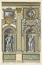 Aquila, Pietro: Wanddekorationen aus dem Palazzo Farnese