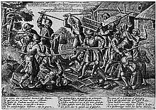 Balten, Pieter: Der Streit zwischen Bauern und Soldaten