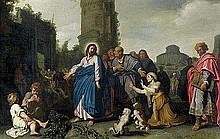 Lastman, Pieter Pietersz - Umkreis: Christus und die Kanaaniterin