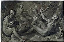 Flämisch: um 1590. Die vier Elemente