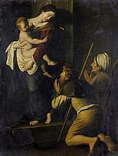 Caravaggio - nach: Madonna dei Pellegrini