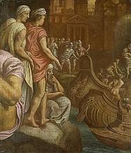 Primaticcio, Francesco - nach: Die Zerstörung Trojas