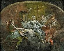 Schmidt, Martin Johann: Allegorie der göttlichen Tugenden
