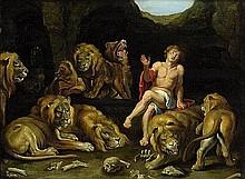 Flämisch: 17. Jh. Daniel in der Löwengrube