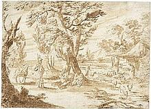 Cittadini, Pier Francesco - zugeschr.: Ein Feldherr bei den Hirten