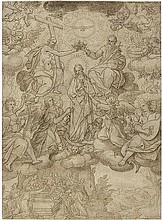 Kager, Johann Matthias - zugeschr.: Marienkrönung mit Engelskonzert