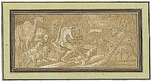 Loth, Johann Carl - Schule: Orpheus zwischen den Tieren
