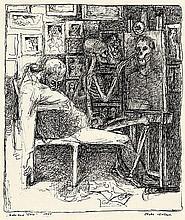 Gerlach, Erich: Maler und Tod