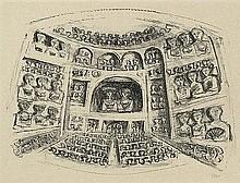 Campigli, Massimo: Teatro I - Théâtre