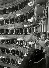 Eisenstaedt, Alfred: Premiere at La Scala, Milan