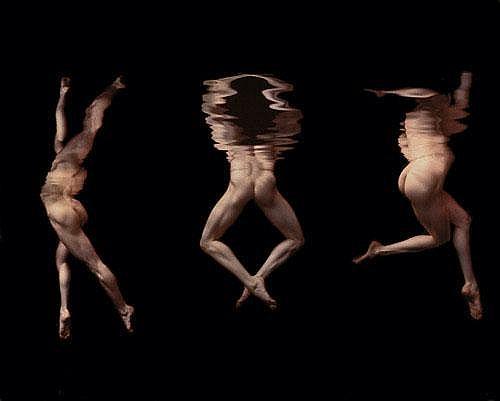 Schatz, Howard: Untitled (Three bodies under water)