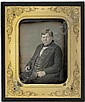 Daguerreotypes: Single portraits of husband and wife