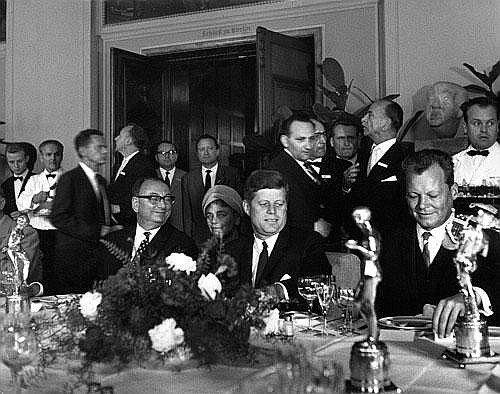 Eschen, Fritz: John F. Kennedy and Willy Brandt, Berlin