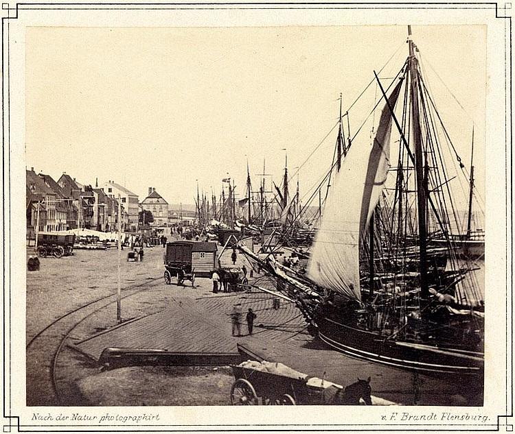 Brandt, Christian Friedrich : Views of Flensburg