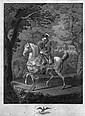 Friedrich II. : zu Pferde vor Sanssouci, Ludwig (1776) Wolf, Click for value