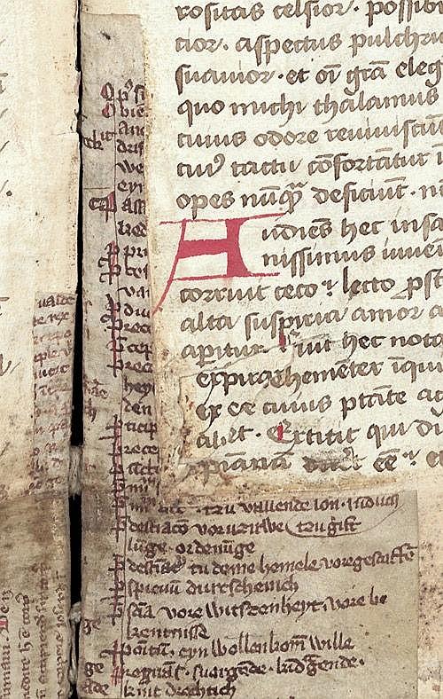 Lectionarium officii: Handschrift auf Papier