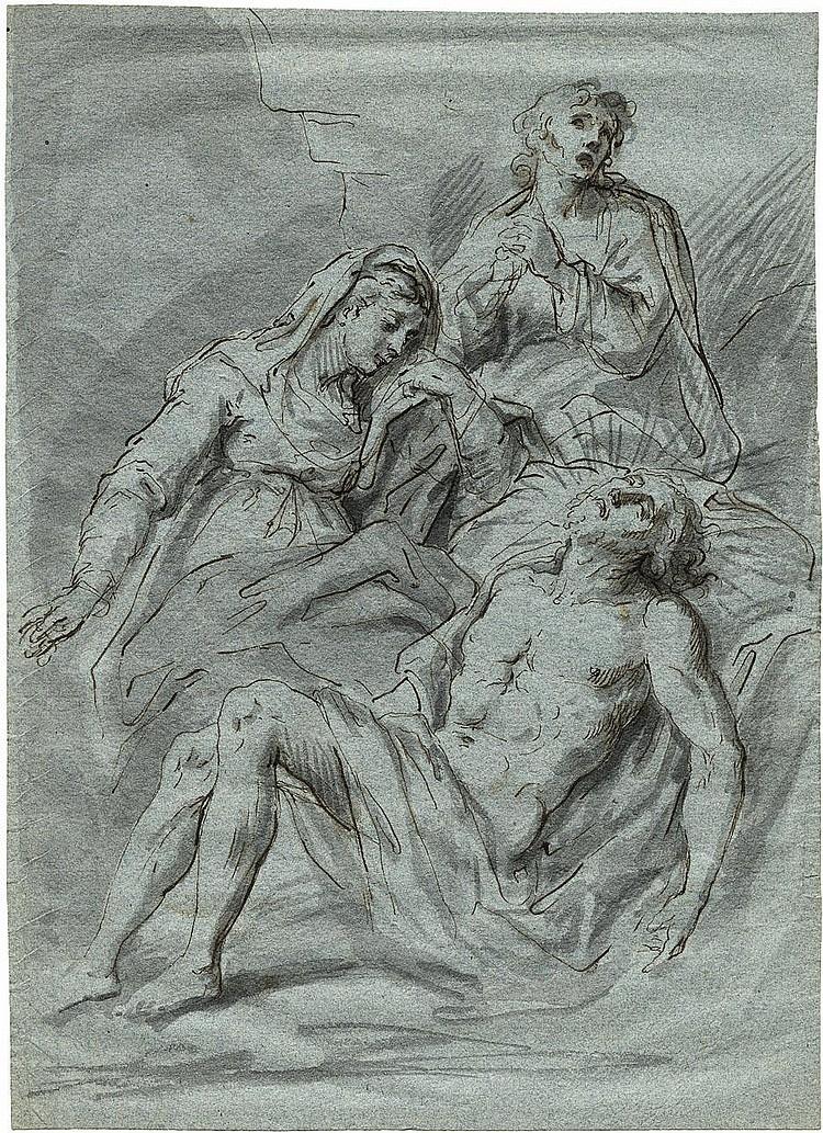 Weiss, Bartholomäus Ignaz: Die Beweinung Christi