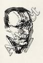Böhmer, Gunter: Porträt Hermann Hesse nach rechts, Gunter Böhmer, Click for value