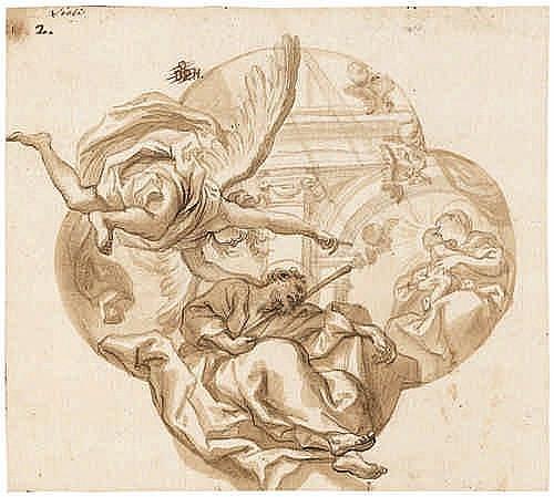 Piola, Domenico: Der Traum des hl. Joseph