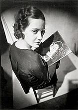 Tabard, Maurice: Portrait Dámy; Untitled (double exposure)