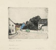 Olbricht, Alexander: Radierungen (Oberweimar)