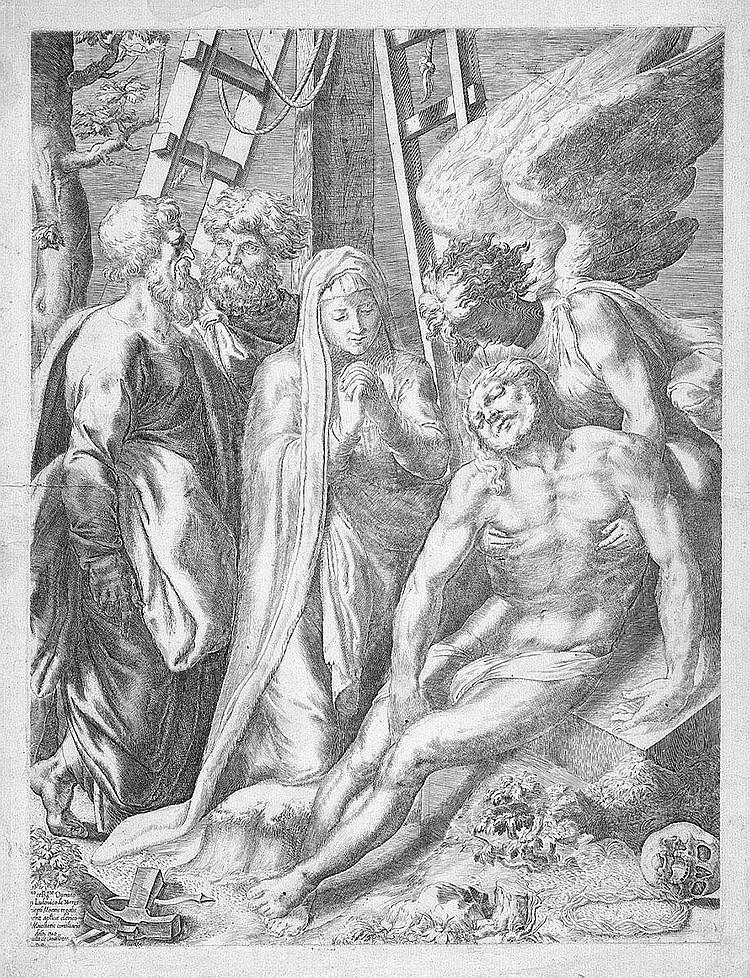 Orazio de Santis: Die Beweinung Christi
