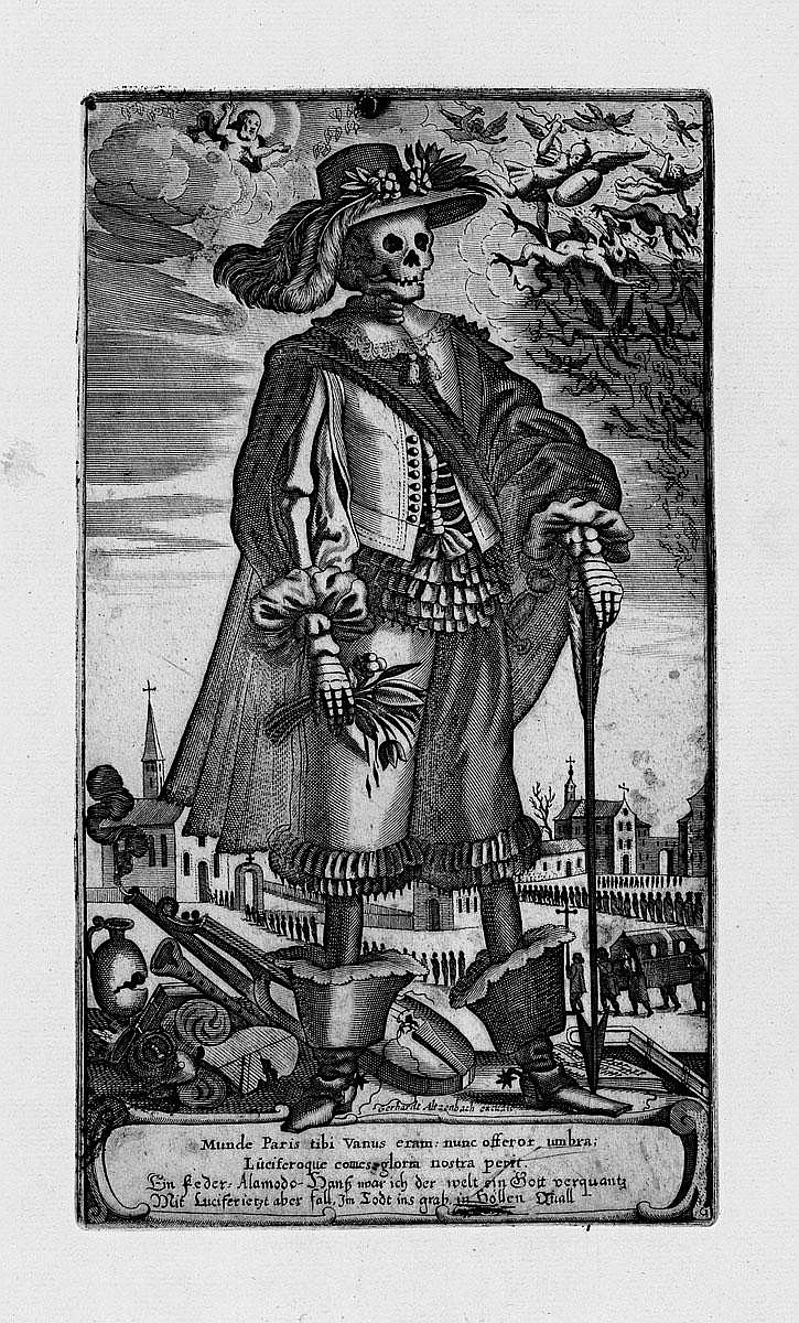Altzenbach, Gerhard: Der Tod als Edelmann u. Edelfrau
