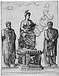 Beatrizet, Nicolas: Allegorie der triumphierenden Roma, Nicolas Beatrizet, Click for value