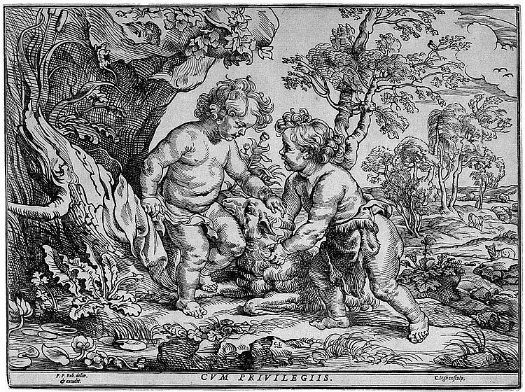 Jegher, Christoffel: Christus und der Johannesknabe