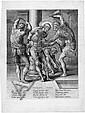 Wierix, Hieronymus: Die Geißelung Christi, Hieronymus Wierix, Click for value