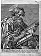 Wierix, Hieronymus: Die vier Evangelisten, Hieronymus Wierix, Click for value