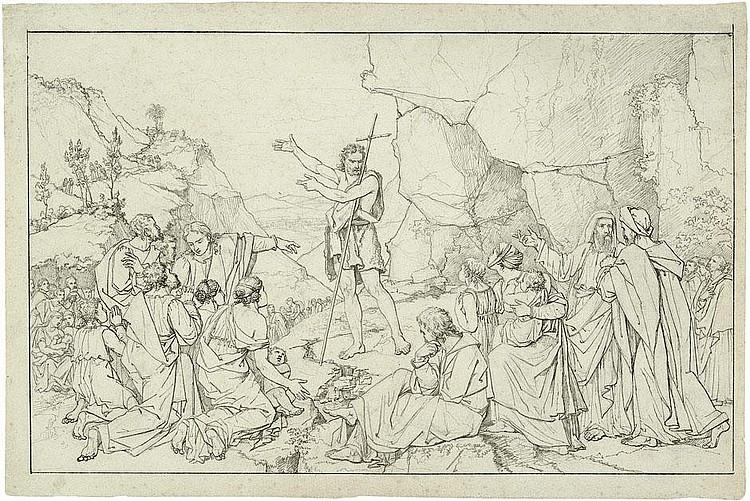 Cornelius, Peter von: Die Predigt Johannes des Täufers
