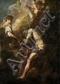 Liss, Johann - Schule: Die Inspiration des hl. Hieronymus
