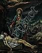 Niederländisch - um 1600: Beweinung Christi