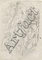 Schwind, Moritz von: Minerva umgeben von Genien