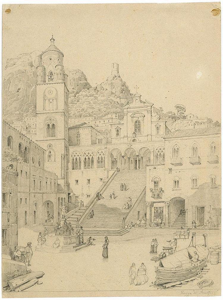 Hauschild, Maximilian: Die Piazza von Amalfi