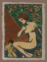 Melzer, Moriz: Mutter mit Kind