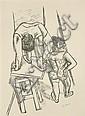 Beckmann, Max: Vor dem Auftritt (Akrobaten)