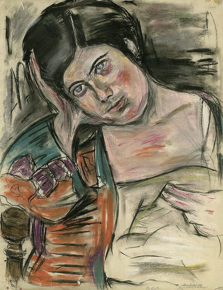 Nadel, Arno: Damenbildnis (Frau Dr. Brieger)