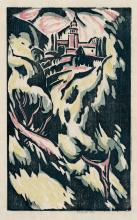 Berndt, Siegfried: Landschaft mit Kirche