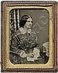 Daguerreotypes: Group of portraits