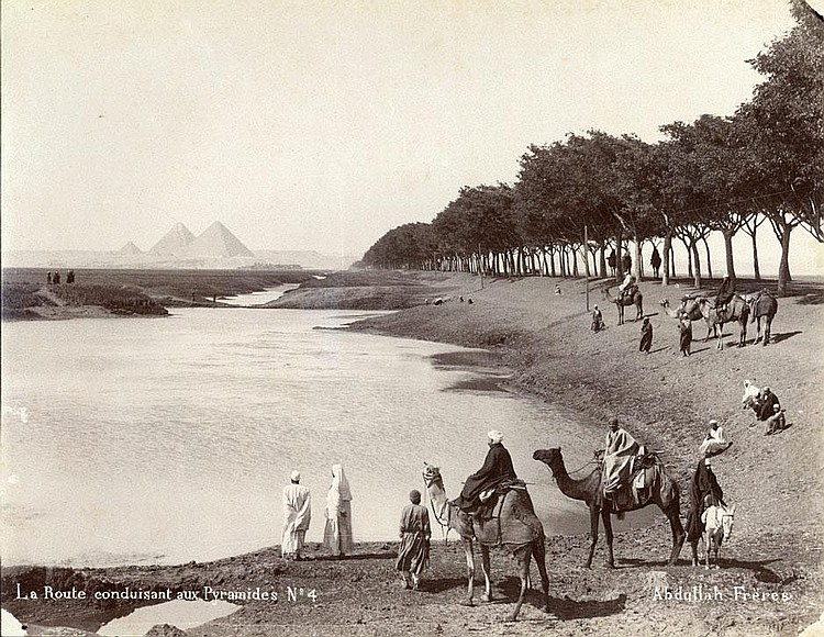Egypt (Abdullah Fréres): Views of Egypt