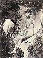 Gloeden, Wilhelm von: Young male nude with terra cotta vase
