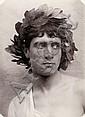 Gloeden, Wilhelm von: Youth with head wreath