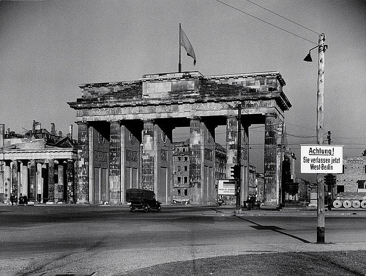 Eschen, Fritz: Brandenburg Gate, Berlin