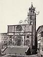 Alinari, Leopoldo: View of Todi Cathedral