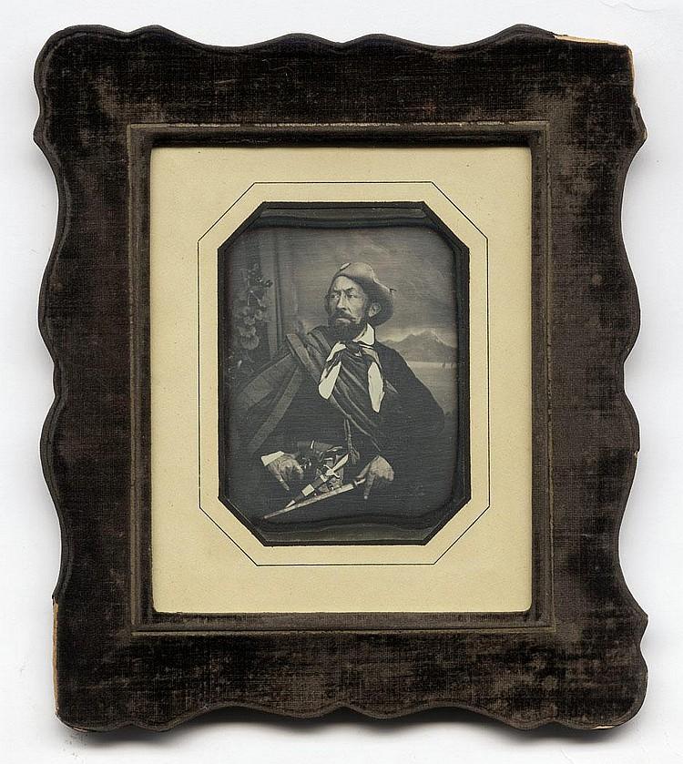 Stelzner, Carl Ferdinand: Portrait of Harro Harring