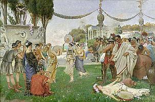 Marfori-Savini, Filippo: Fest im antiken Rom